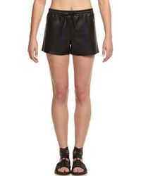 Bailey 44 Sudan Faux Leather Shorts - Lyst