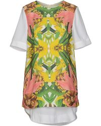 Finders Keepers Short Dress yellow - Lyst