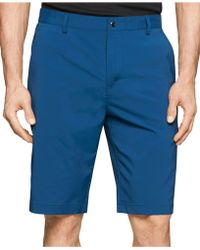 Calvin Klein | Core Flat-front Shorts | Lyst