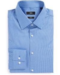 Boss by Hugo Boss 'Jacob' Ww Slim Fit Easy Iron Dot Dress Shirt - Lyst