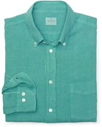 Club Monaco Hartford Linen Shirt - Lyst