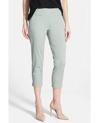 Jag Jeans 'Hope' Slim Crop Pants - Lyst