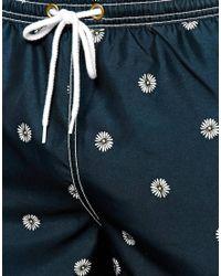 Jack Wills - Botanical Print Swim Shorts - Lyst