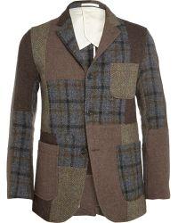 Beams Plus Patchwork Harris Tweed Jacket - Lyst