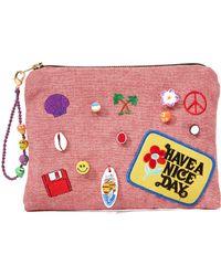 Venessa Arizaga - Have A Nice Day Clutch Bag - Lyst