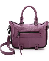 She + Lo - Mini Rise Above Satchel - Lilac - Lyst