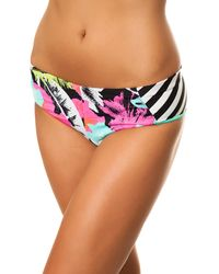 Volcom The Night Out Reversible Bikini Boardie - Lyst