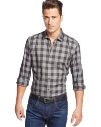 Hugo Boss Boss Lando Twill Checked Shirt - Lyst
