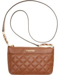 Calvin Klein Key Item Pebble Crossbody - Lyst