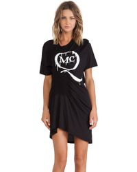 McQ by Alexander McQueen Smocked Dress - Lyst
