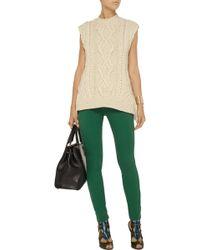 Just Cavalli Cableknit Wool Sweater - Lyst