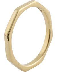 Natasha Sherling - Octagon Ring Gold - Lyst