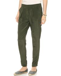 House of Harlow 1960 - Everly Trousers Army - Lyst