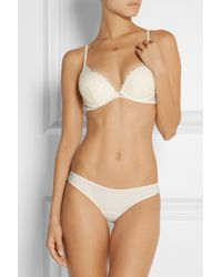 La Perla Pizzo Lace And Stretch-Tulle Underwired Bra - Lyst