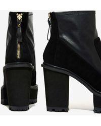 Nasty Gal Shellys London Bidocchio Leather Boot - Lyst