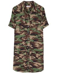 Equipment Camo Remy Utility Dress - Lyst