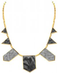 House Of Harlow 1960 Five Station Necklace gold - Lyst