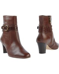 Anne Klein Ankle Boots - Lyst