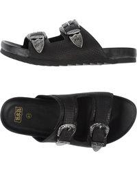 Ash Sandals - Black