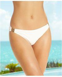 Michael Kors Michael Hardware Bikini Bottom - Lyst