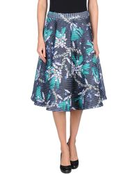 Mary Katrantzou 34 Length Skirt - Lyst
