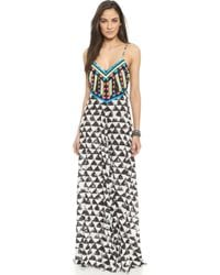 Mara Hoffman Embellished Cover Up Dress - Alta - Lyst