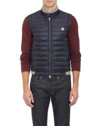 Moncler Down-quilted Maglia Vest - Lyst