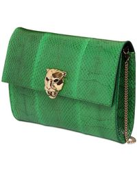 Roberto Cavalli Ayers Clutch With Panther Clutch - Lyst