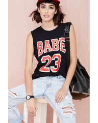 Nasty Gal Petals  Peacocks Babe 23 Tank - Lyst