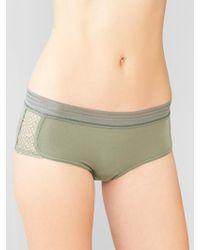 Gap Modal Diamond-Lace Girlshorts - Lyst