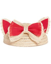 Maison Michel 'Bibi Yoko' Fur Felt Cat Ear Straw Hat - Lyst