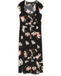 MINKPINK Moon Flower Midi Dress multicolor - Lyst