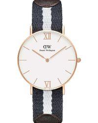 Daniel Wellington Grace Glasgow Watch - For Women pink - Lyst