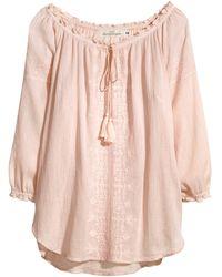 H&M Bohemian Style Blouse - Lyst