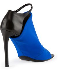 Balenciaga Neoprene Glove Sandal Electric Blue - Lyst