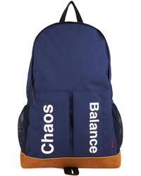 Undercover - Chaos And Balance-Print Canvas Backpack - Lyst