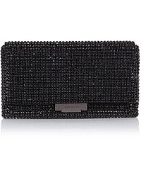 Karen Millen Limited Edition Diamante Clutch black - Lyst
