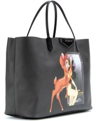Givenchy Antigona Large Printed Fauxleather Shopper - Lyst