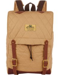 Junya Watanabe Leathertrim Quilted Backpack - Lyst