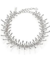 Oscar de la Renta Charm Collar Necklace - Lyst