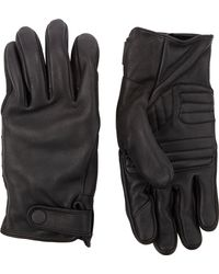Theory Leather Raus Gloves - Lyst