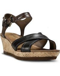 Cobb Hill - Neve Wedge Sandals - Lyst