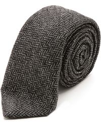 Alexander Olch Grey Brown Necktie - Lyst
