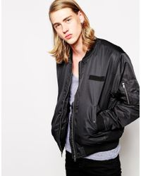 Cheap Monday Bomber Jacket - Lyst