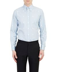 Thom Browne Piqué Shirt - Lyst