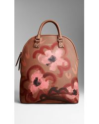 Burberry The Bloomsbury in Handpainted Leather - Lyst