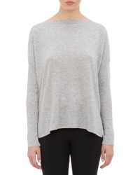 Vince Boatneck Pullover Sweater - Lyst