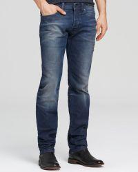 Diesel Jeans - Safado Slim Straight Fit in 838d - Lyst