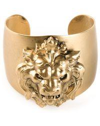 Ela Stone Lion Manchette Cuff - Lyst