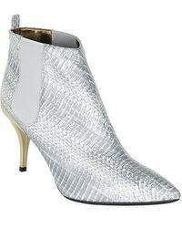 Lanvin 75 Stiletto Ankle Boot - Lyst